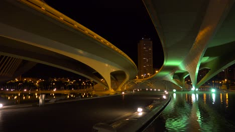 A-futuristic-highway-overpass-in-Valencia-Spain