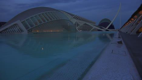 Futuristic-architecture-of-Valencia-Spain