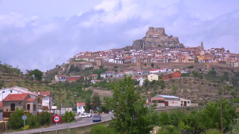 The-beautiful-castle-fort-town-of-Morella-Spain