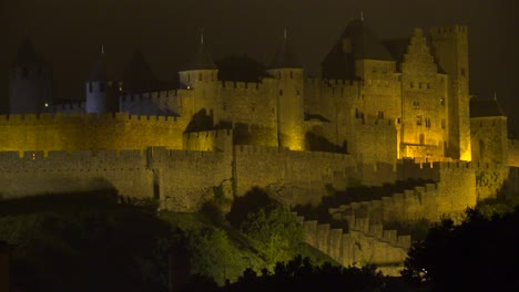 The-beautiful-Carcassone-Fort-in-the-south-of-France-at-night-1