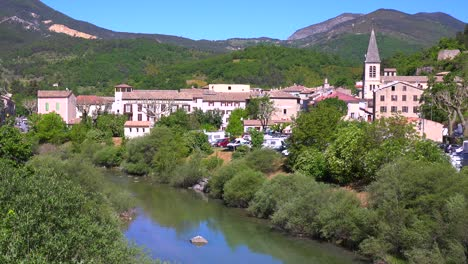 A-pretty-medieval-town-in-provence-France