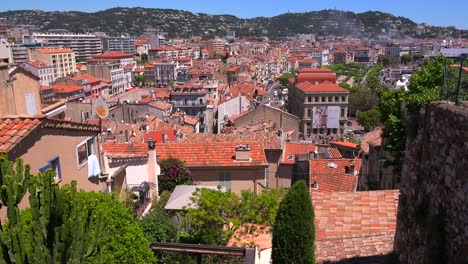 A-view-across-the-cityscape-and-harbor-of-Cannes-France-1