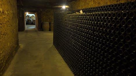 A-dimly-lit-wine-cellar