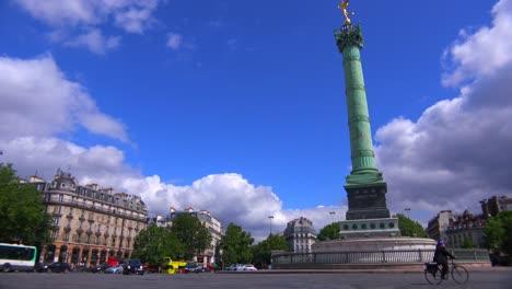 Una-Rotonda-En-El-Barrio-De-La-Bastilla-De-París