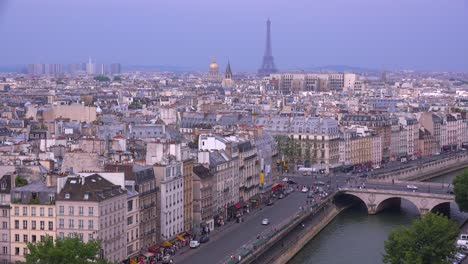 High-angle-view-over-the-rooftops-of-Paris-1