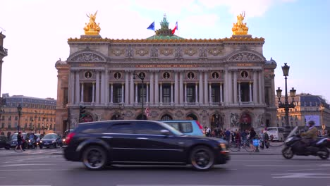 Exterior-of-the-music-academy-of-Paris