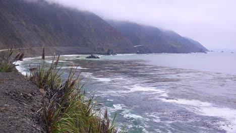 Hermosas-Playas-Y-Paisajes-Costeros-A-Lo-Largo-De-La-Autopista-Uno-1-De-California