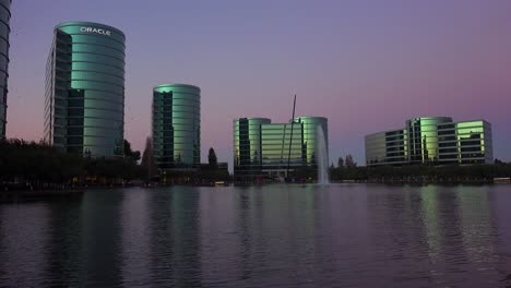 Establishing-shot-of-Oracle-Headquarters-in-Silicon-Valley-California-in-golden-light-8