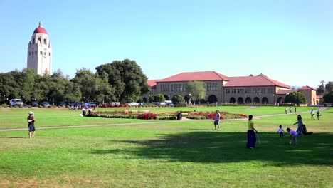 Establishing-shot-of-the-Stanford-University-campus-at-Palo-Alto-California