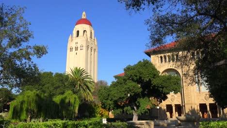 Establishing-shot-of-the-Stanford-University-campus-at-Palo-Alto-California-1