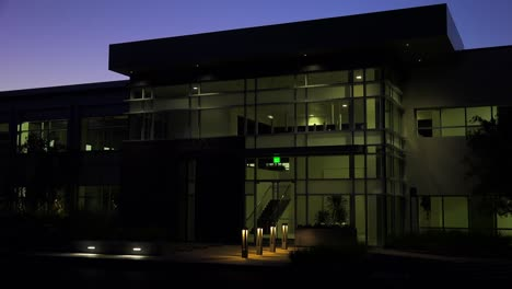 Establishing-shot-of-the-exterior-of-a-generic-modern-office-building-at-night-5