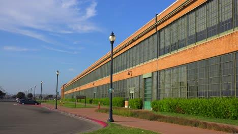 An-establishing-shot-of-a-warehouse-or-factory