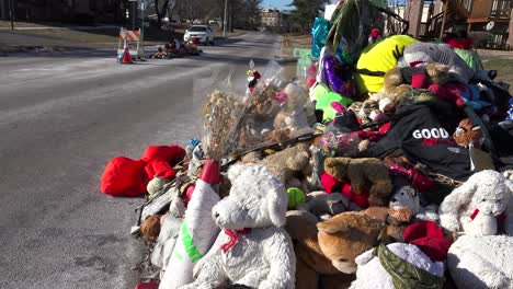 A-makeshift-memorial-for-Michael-Brown-shooting-victim-in-Ferguson-Missouri-1