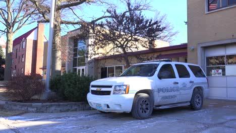Establecimiento-De-Tiro-De-La-Estación-De-Policía-En-Ferguson-Missouri-2