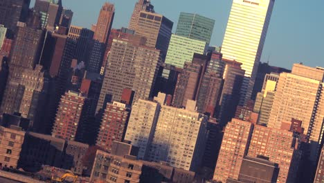 A-skewed-angle-of-high-rises-in-Manhattan-New-York-city