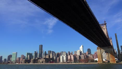 Low-angle-view-of-the-Queensboro-Bridge-with-the-New-York-skyline-background-4