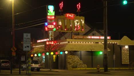 A-disco-or-nightclub-establishing-shot-at-night