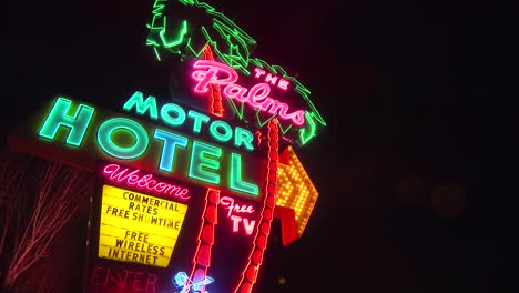 A-1950-s-neon-sign-welcomes-travelers-to-a-classic-old-roadside-motel-2
