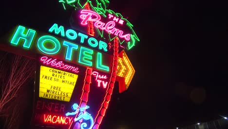 A-1950-s-neon-sign-welcomes-travelers-to-a-classic-old-roadside-motel-3