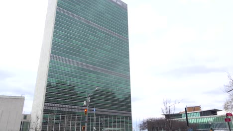 Establishing-shot-of-the-United-Nations-in-New-York-City
