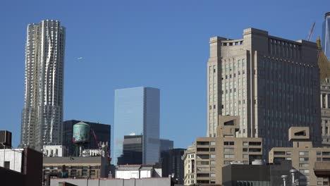 Una-Vista-Del-Lower-East-Side-De-Manhattan-Ciudad-De-Nueva-York