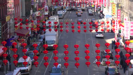 Establishing-high-angle-shot-of-the-Chinatown-district-with-lamps-and-lanterns-in-New-York-City