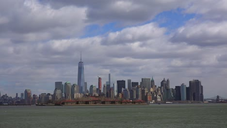 An-extreme-wide-angle-of-New-York-City-with-clouds-overhead-2