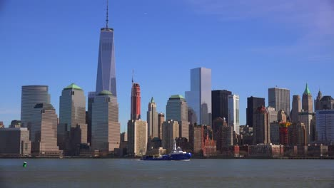 Establishing-shot-of-the-financial-district-of-New-York-City-including-the-freedom-tower