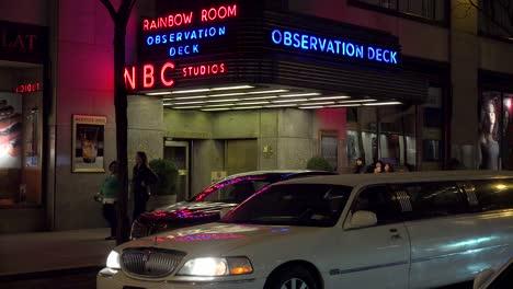 Establishing-shot-of-the-NBC-studios-at-Rockefeller-Center-and-the-Rainbow-Room