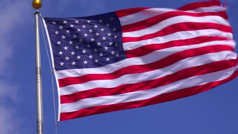 The-US-flag-flies-in-the-wind