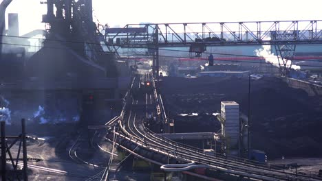 Establishing-shot-of-a-busy-steel-mill-1