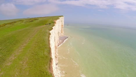 Beautiful-aerial-shot-of-the-White-Cliffs-of-Dover-at-Beachy-Head-England-2
