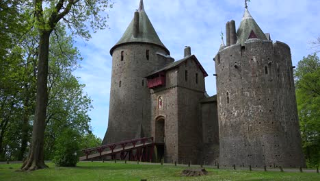 The-beautiful-and-classic-Castle-Coch-in-Wales