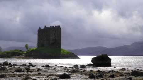 Castle-Stalker-in-Scotland-on-a-stoprmy-day-1