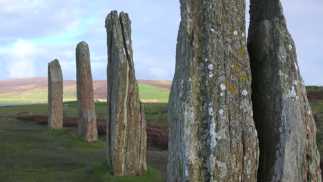 The-sacred-Brodgar-circular-Celtic-stones-on-the-Islands-of-Orkney-in-Northern-Scotland