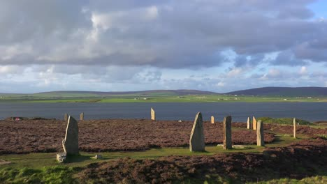 The-sacred-Brodgar-circular-Celtic-stones-on-the-Islands-of-Orkney-in-Northern-Scotland-3
