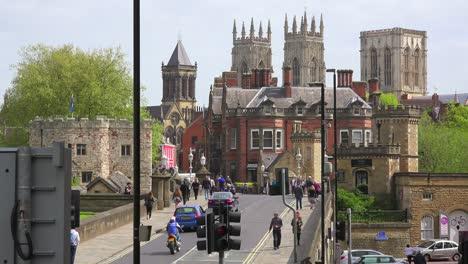 An-establishing-shot-of-the-town-of-York-England-1