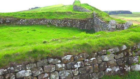 Una-Toma-De-Establecimiento-Del-Muro-De-Hadrians-En-El-Norte-De-Inglaterra-