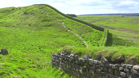 An-establishing-shot-of-Hadrians-Wall-in-northern-England-3