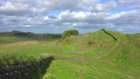 An-establishing-shot-of-Hadrians-Wall-in-Northern-England-5