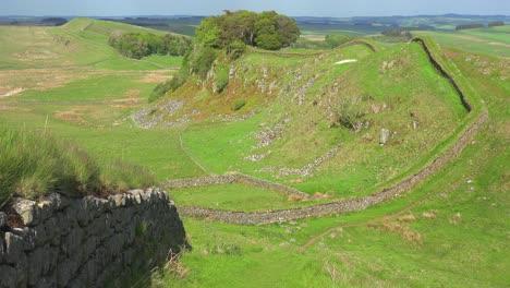 An-establishing-shot-of-Hadrians-Wall-in-Northern-England-6