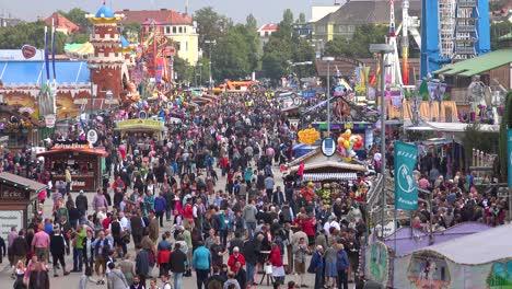 Huge-crowds-of-people-attend-Oktoberfest-in-Munich-Germany-2
