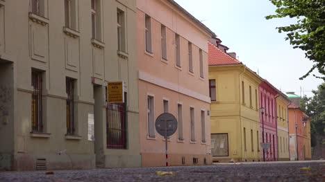 Meist-Verlassene-Stadt-Im-Nazi-Konzentrationslager-Theresienstadt-In-Tschechiencz