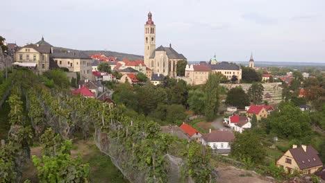Drehaufnahme-Der-Kleinstadt-Kutn___ï-Hora-In-Tschechien