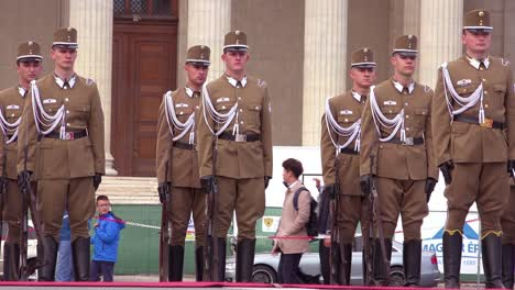Hungarian-troops-stand-at-attention-in-Heroes-Square-Budapest-Hungary-1