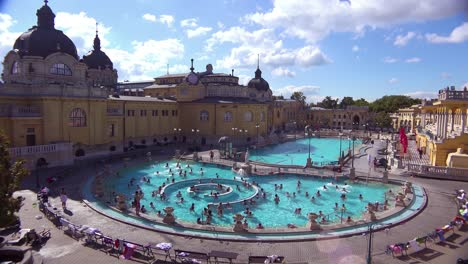 An-establishing-shot-of-a-beautiful-old-bath-and-spa-in-Budapest-Hungary-2