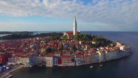 Beautiful-aerial-shot-of-the-town-of-Rovinj-in-Croatia-8