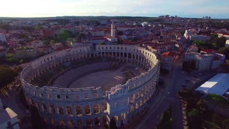Stunning-aerial-view-of-the-remarkable-Roman-amphitheater-in-Pula-Croatia-3