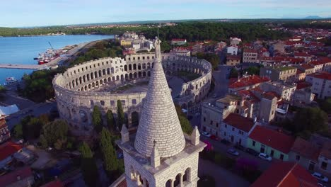 Stunning-aerial-view-of-the-remarkable-Roman-amphitheater-in-Pula-Croatia-4