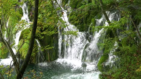 Beautiful-waterfalls-are-found-everywhere-at-Plitvice-National-Park-in-Croatia